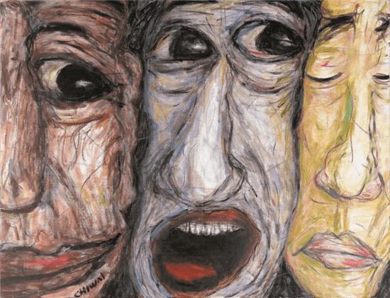 """""""回眸——玛丽·罗兹女士与张志伟先生绘画作品联展""""隆重举办"""