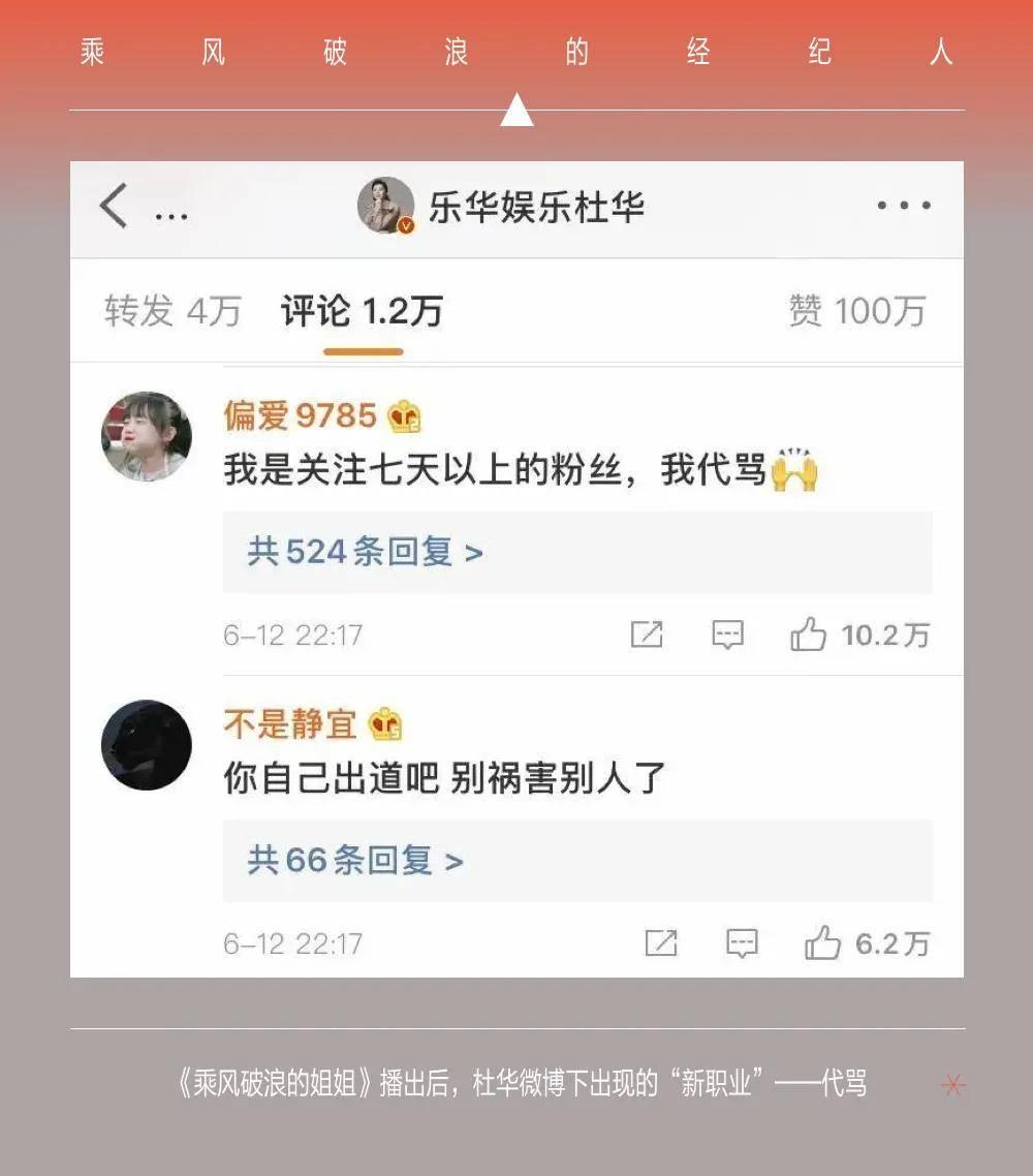020最新顶流艺人:杨天真、杜华、龙丹妮