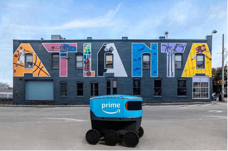 亚马逊的送货机器人Scout的服务范围又扩大了