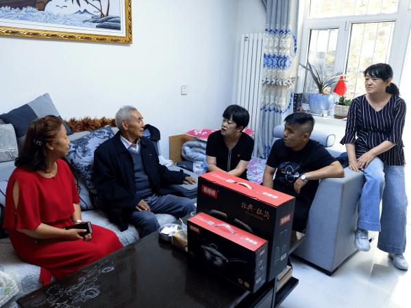 西宁市胜利路街道办事处走访慰问辖区退役军人