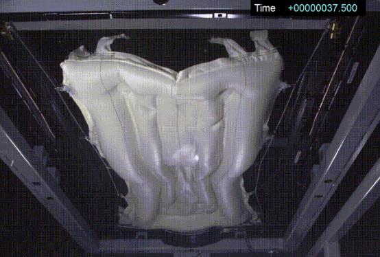 Mobis车顶安全气囊最大限度保护乘员安全