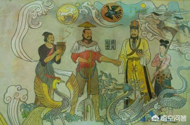 三皇五帝分别是谁(三皇五帝夏商周口诀)