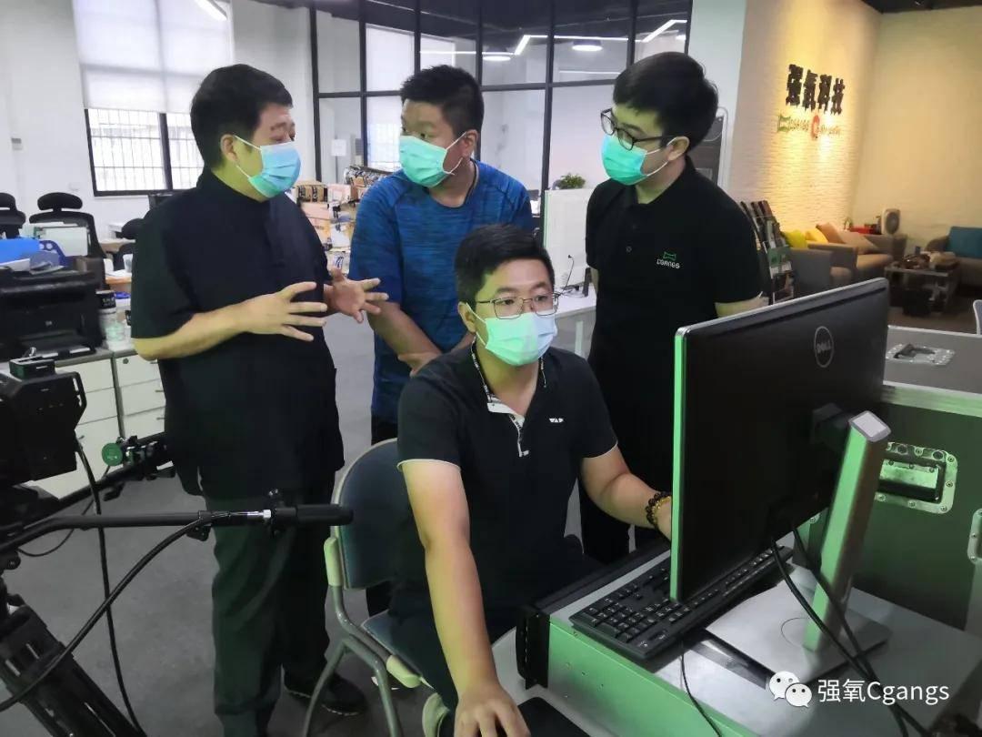 强氧&广东工业大学华立学院传媒与艺术设计学院关于实验室建设进行探讨规划