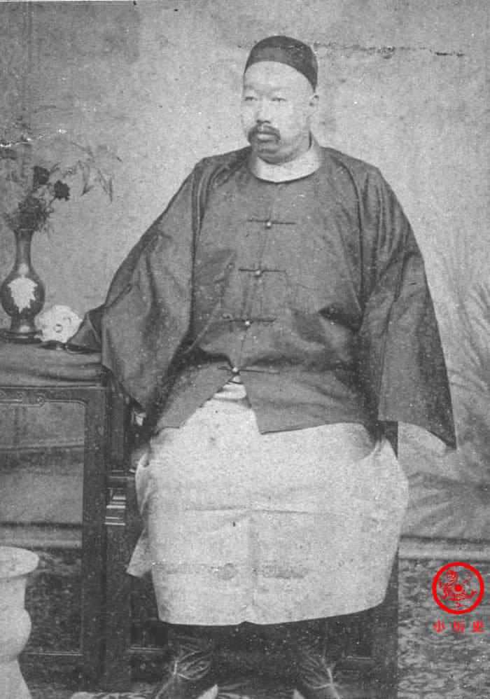 晚清老照片:李鸿章将22岁女儿嫁给40岁肥胖大臣