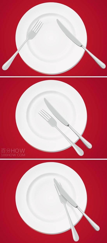 吃西餐刀叉怎么拿,西餐刀叉标准优雅的拿法左右手图解 网络快讯 第6张
