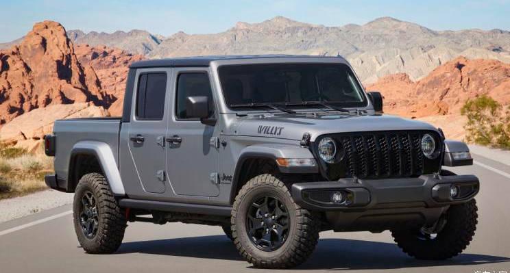 致敬鼻祖 Jeep发布Gladiator特别版官图-XI全网