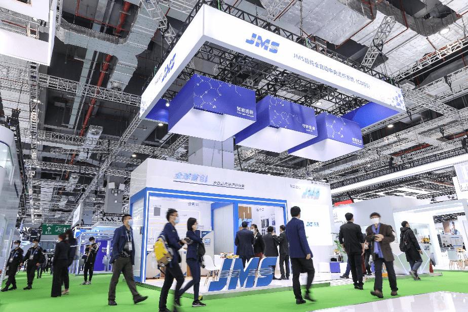 日本株式会社JMS携超纯中央透析系统亮相进博会 引领血液净化步入智能时代