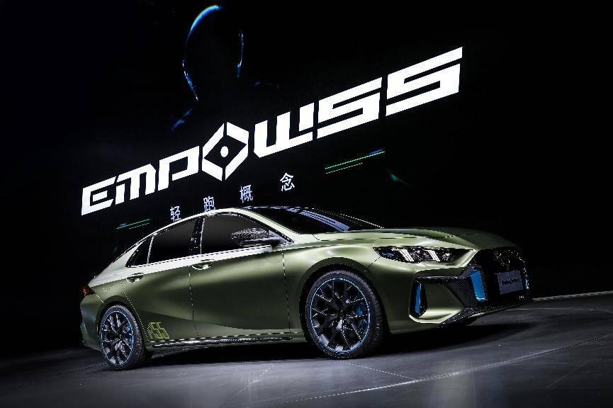 EMPOW55的到来,就是为了圆你跑车梦的