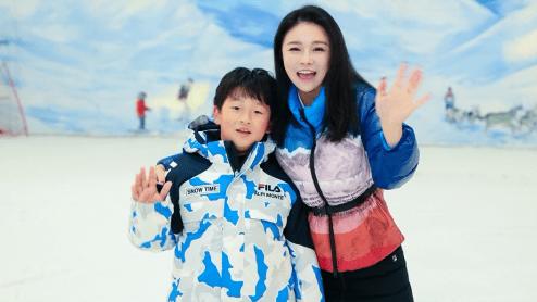 明星时尚辣妈,滑雪世界冠军齐助阵