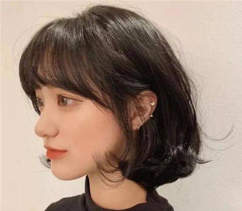 wob头普通人剪的效果(今年女生流行什么发型 )插图(8)