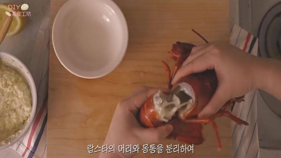澳洲龙虾的做法视频教程(正宗的芝士焗龙虾做法)插图(5)