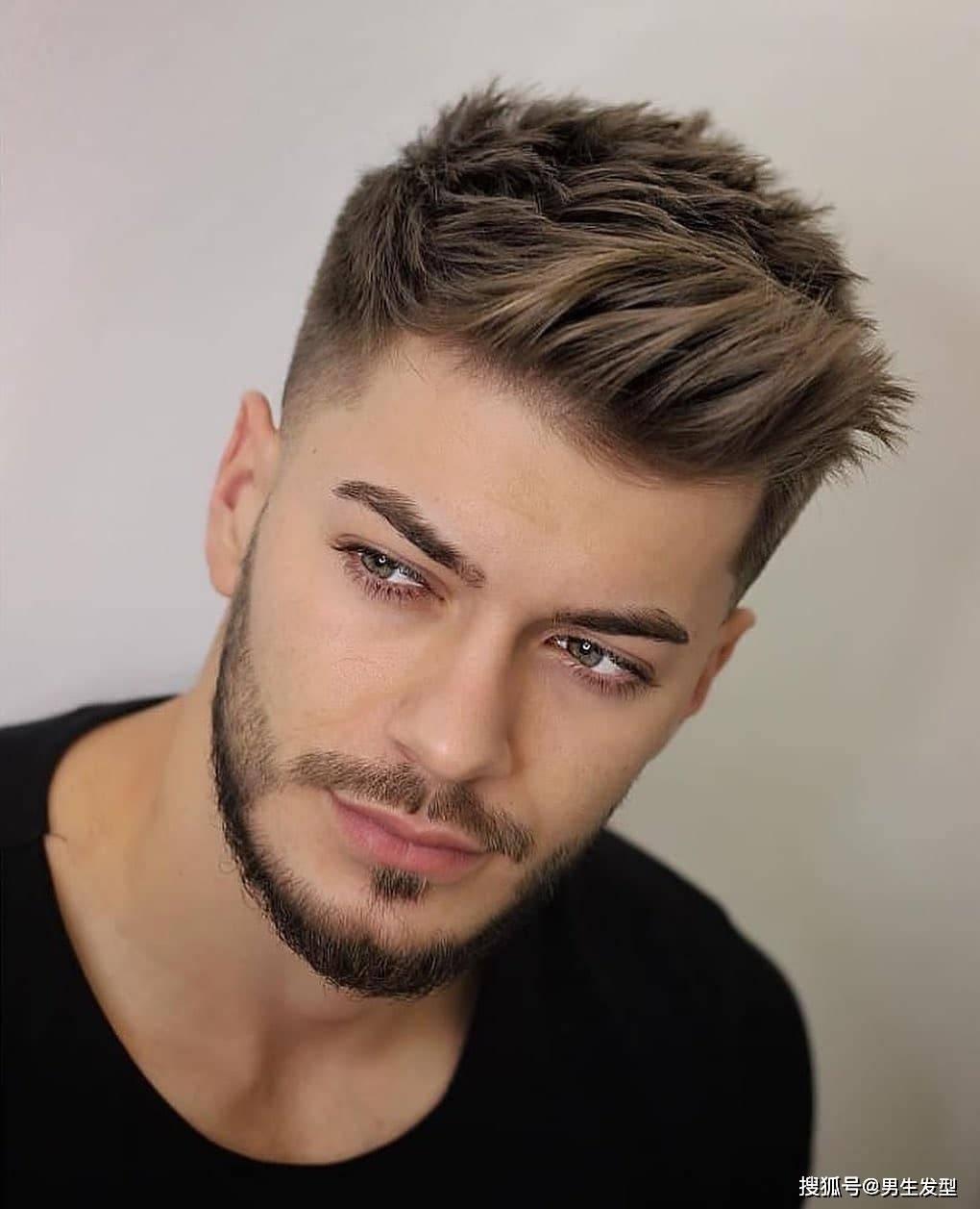 """男生理发不要只会""""稍微剪短"""" 这12款发型阳光帅气 潮流有范"""
