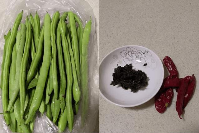 香辣橄榄菜四季豆,轻轻松松搞定两大碗米饭