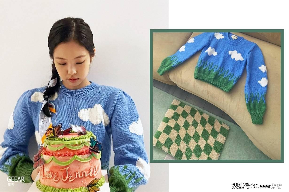 你知道原来珍妮穿的这件毛衣品牌吗?