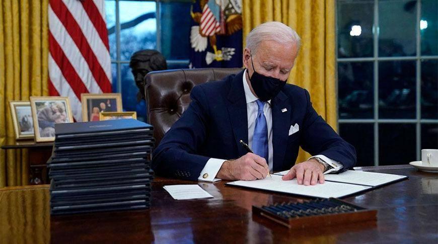 拜登上任签署17条行政令,是否都能落实