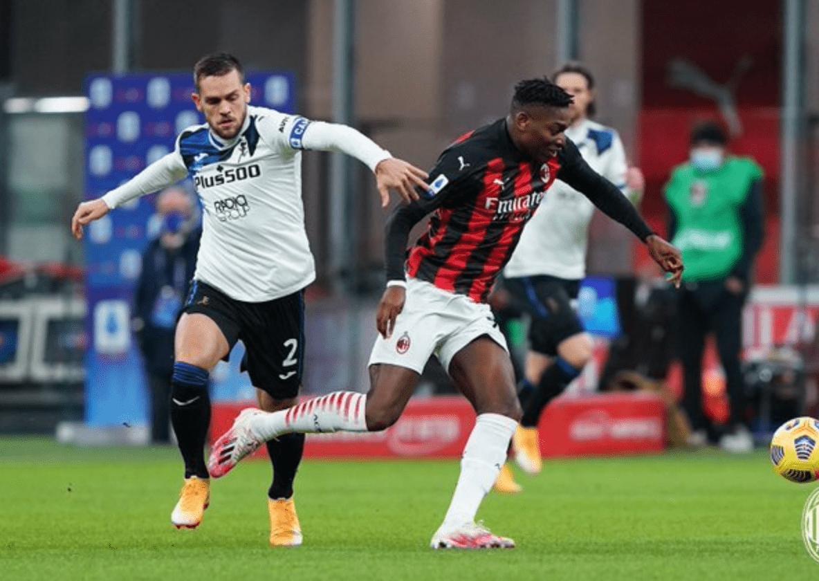 意甲联赛第19轮一场焦点战演出,AC米兰主场0-3完败给亚特兰大