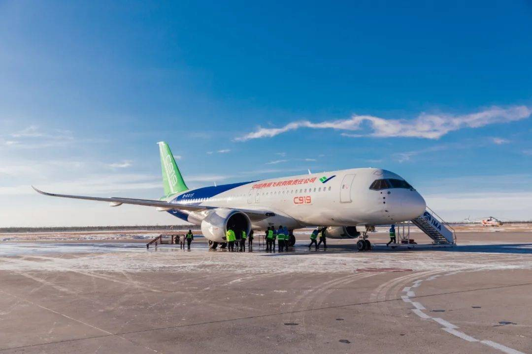【今年上海将推动国产大飞机 C919 取得适航证并交付首架】