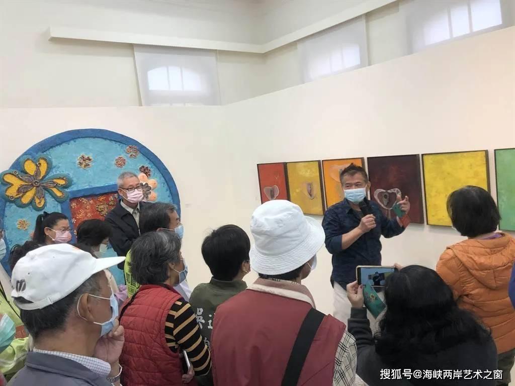 艺术家曾英栋艺术作品《酒后心花开》系列台南艺文中心展出_阿舍