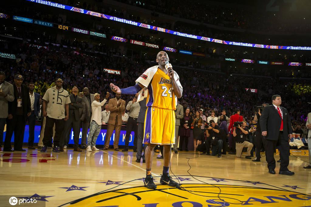NBA故事汇:科比逝世一周年留念 曼巴精神从未停步
