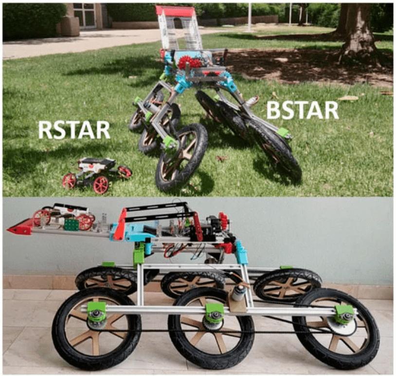以色列开发「机器人父子」,爬行避障,可加速并扩大地形探索!