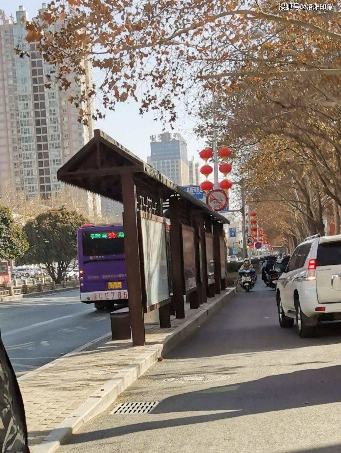 洛阳公交61路新路线图