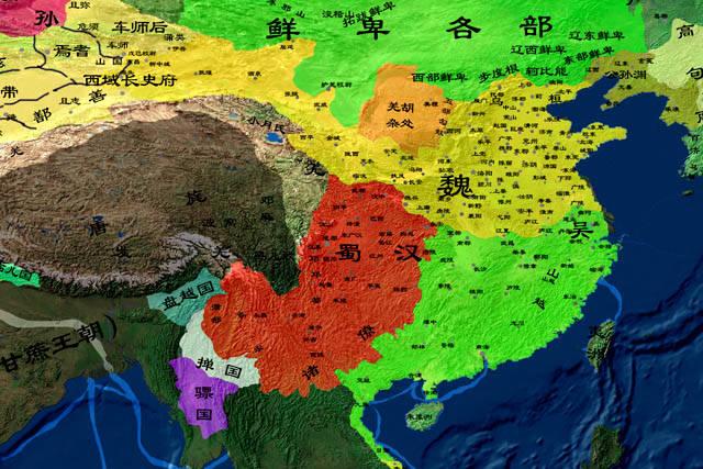 最初,魏蜀吴的三个国家是分开的。哪个国家的幸福感最强?