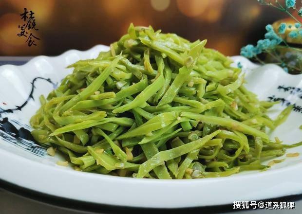 最近迷上了素菜,扁豆这样炒,每天吃2次雷打不动,特鲜美