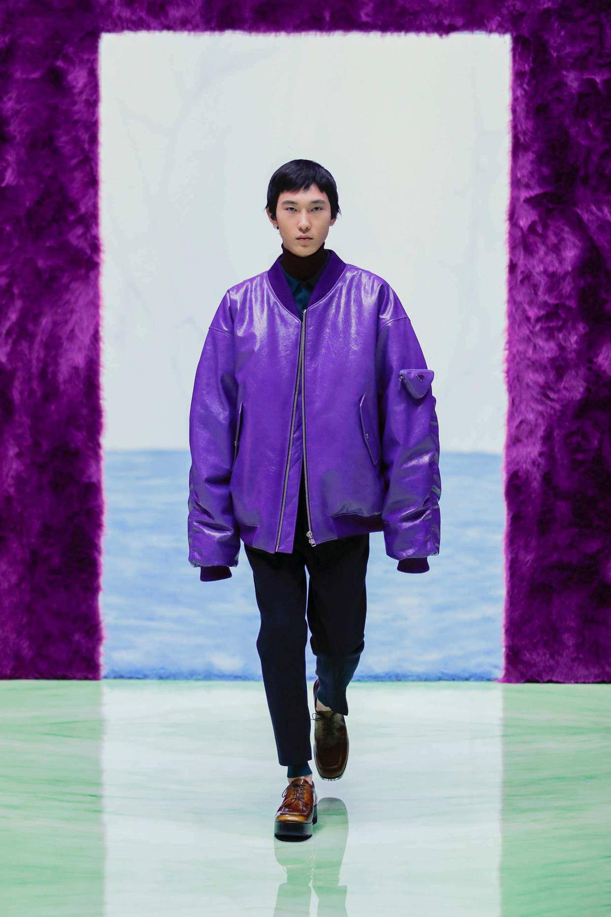 2021/22秋冬米兰男装时装周 诠释当代男装之美! 爸爸 第10张