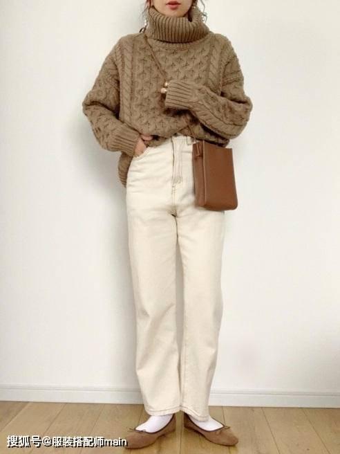 155cm小个子女生别错过休闲裤 照这4种方法选 显高显腿长 爸爸 第11张