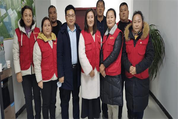 莒县义工联参与团县委组织的《全员核酸检测预登记》服务