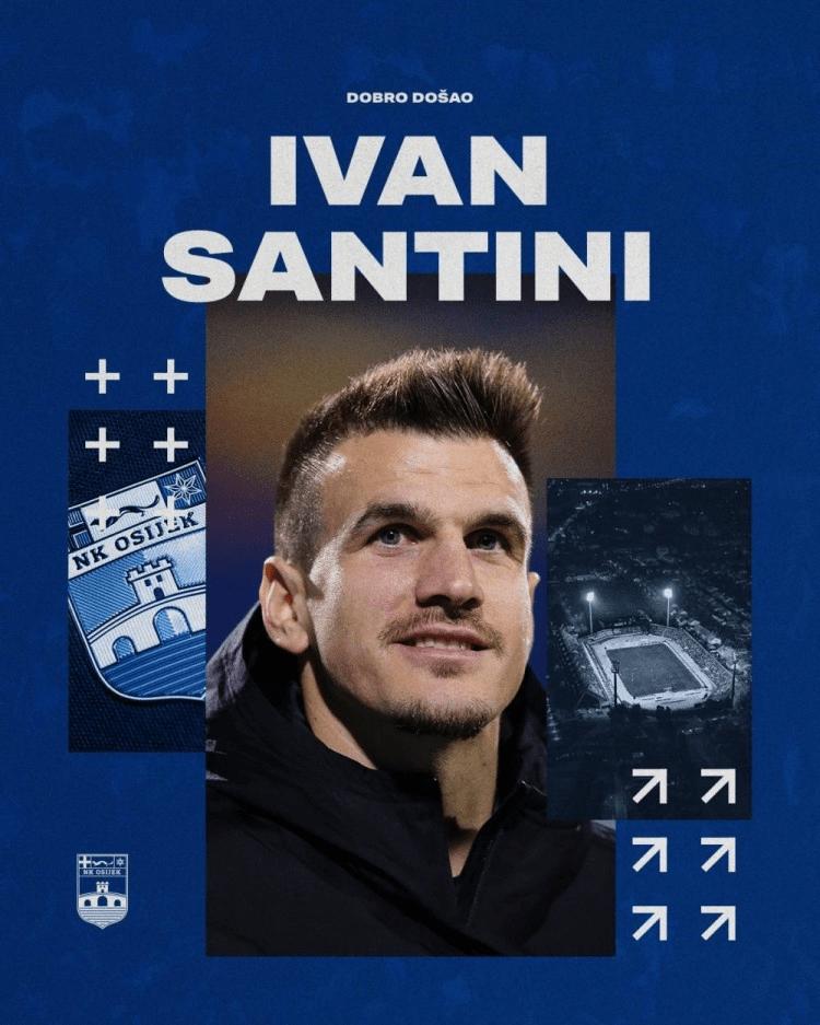 苏宁外援桑蒂尼提前解约 加盟克罗地亚球队奥西耶克