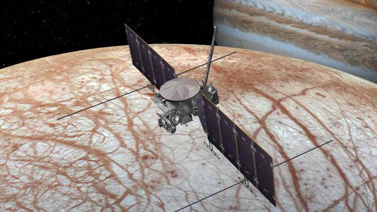 民间太空公司崛起,欧罗巴快船放弃使用SLS发射,转向商用火箭