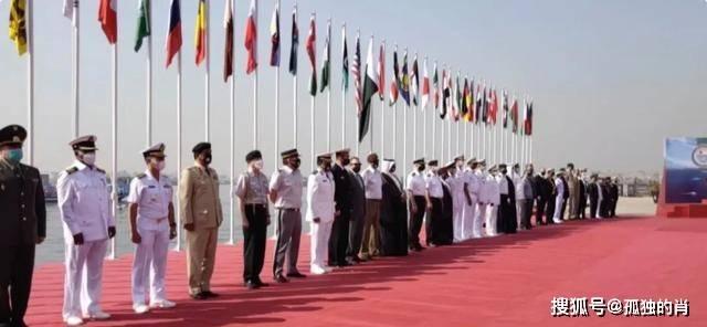 原印度真的慌了!巴基斯坦海军发动了猛烈的攻击,这次有45个国家参加