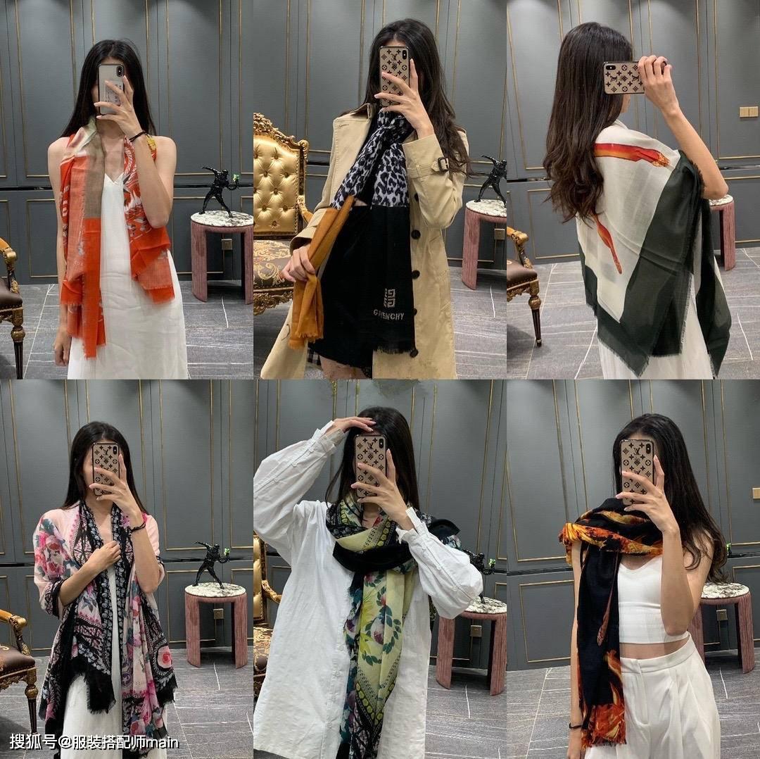 原创             每个女孩都该拥有一条丝巾,原来系对了!真的精致又美丽