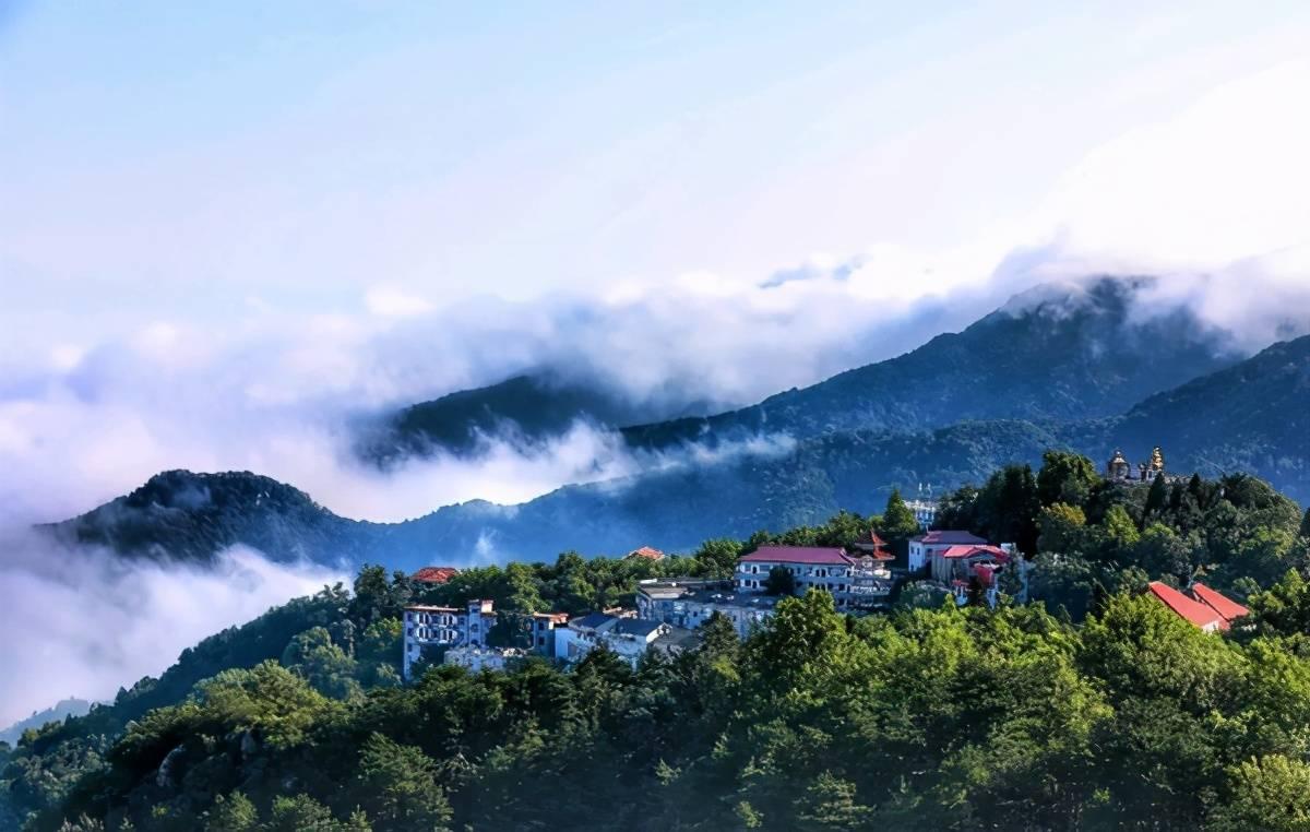 河南一座山仅有768米,是国内四大避暑胜地之一,你来过吗?