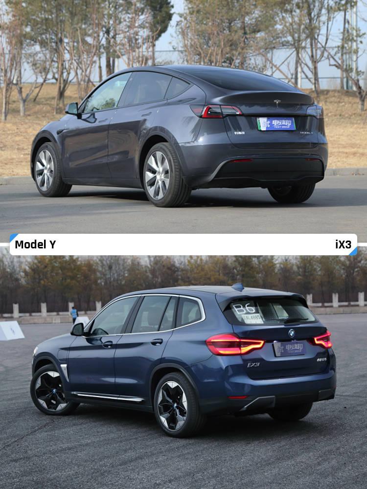 预算40万上下 特斯拉Model Y和宝马 iX3谁更香