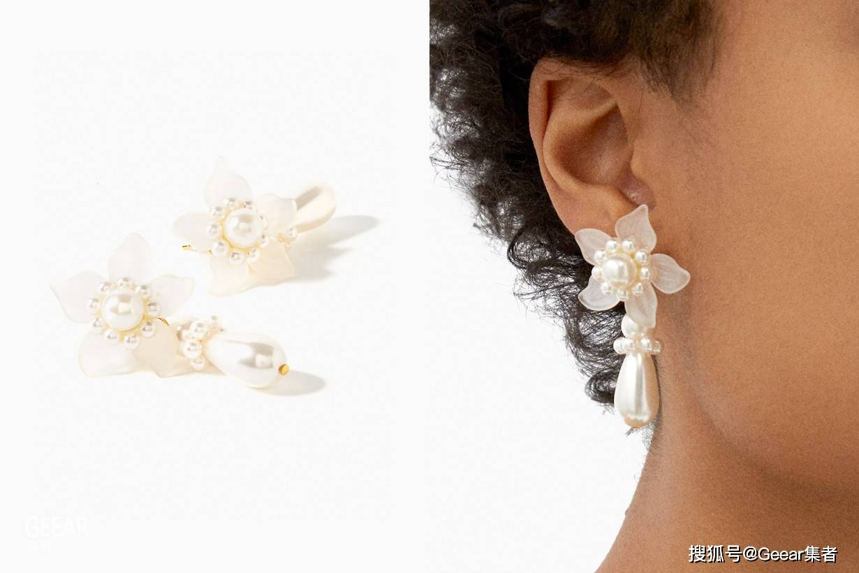 原创             小资女生请瞄准:11对脱俗优雅的珍珠耳环!