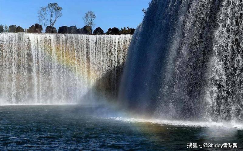 原创             亚洲第一大人工瀑布,气势磅礴耗资10亿元,是695万人的备用水源