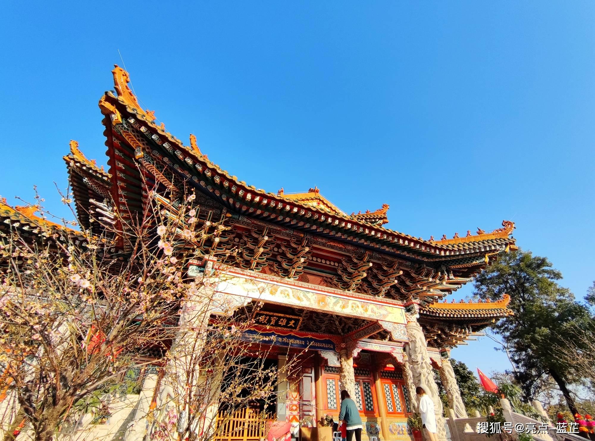 了不起的梅山寺,拥有两个国内之最——石质山门、缅甸白玉佛像  第5张