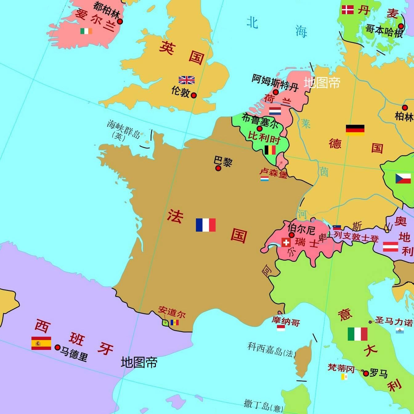 原创             科西嘉岛曾是意大利的一部分,为何成了法国领土?