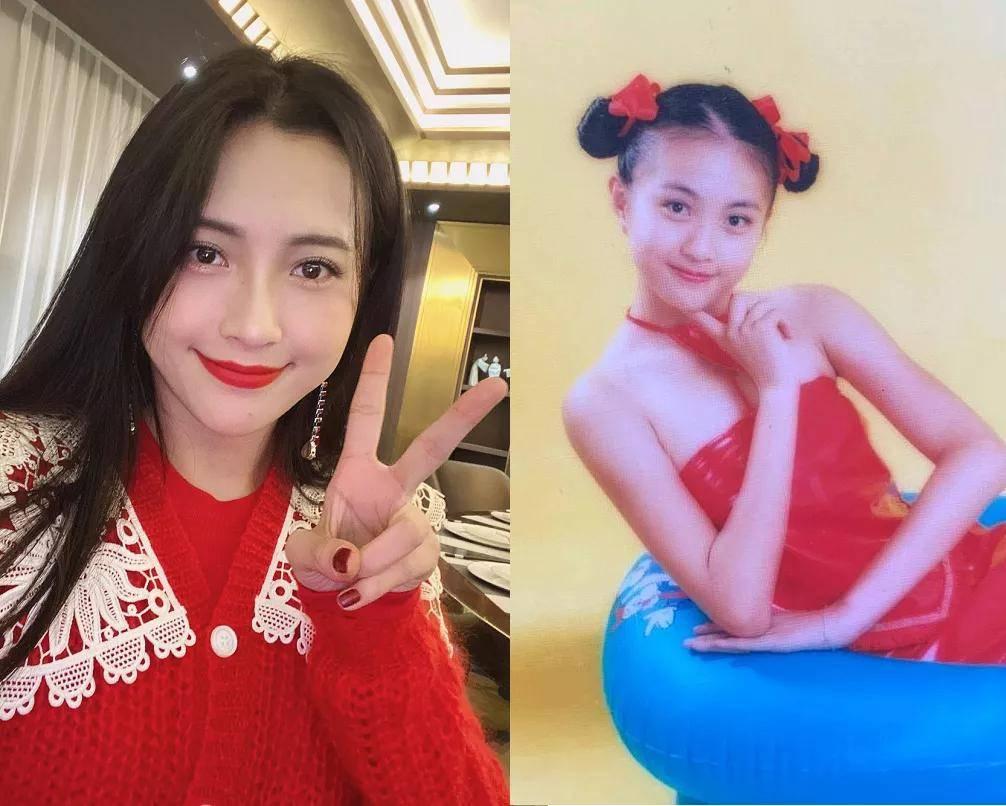 《你好,李焕英》主演童年照:贾玲气质温婉,张小斐认不出  第23张