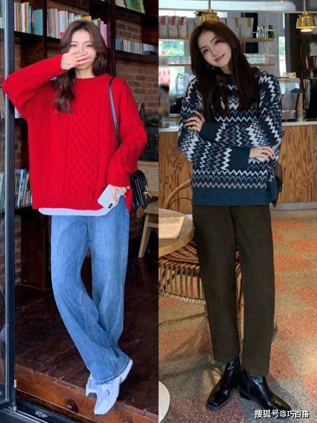 春季返校怎么穿?简约时尚的毛衣搭配合集,助你凹出高颜值look