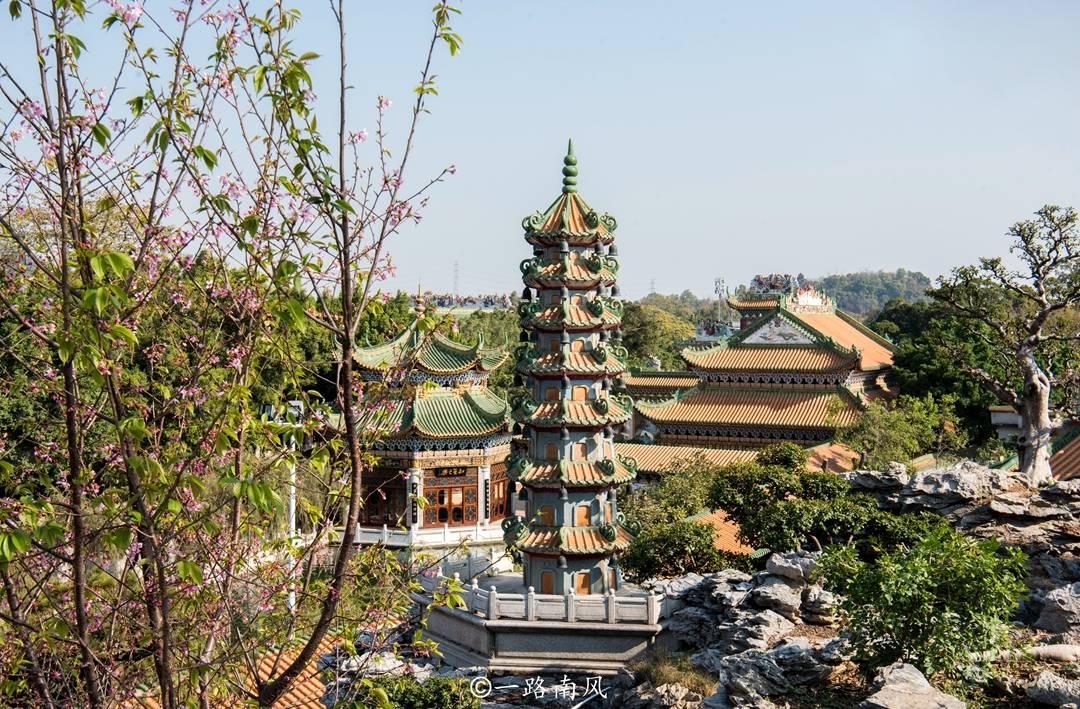 原创             广州南粤苑,文化价值不输苏州园林,雕刻绘画精致,游客却很少
