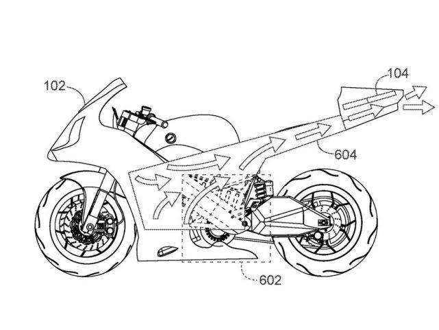 不求人原创摩托车航拍!本田正试图将无人机集成到摩托车中