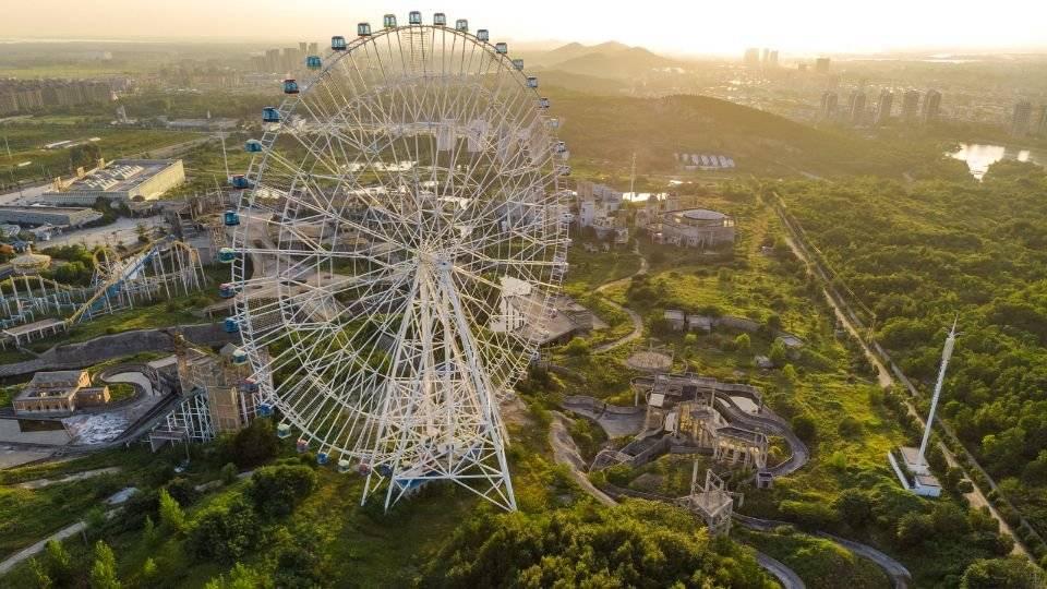 安徽省最无奈的游乐场,曾超过方特成亚洲最大,却连一天门都没开