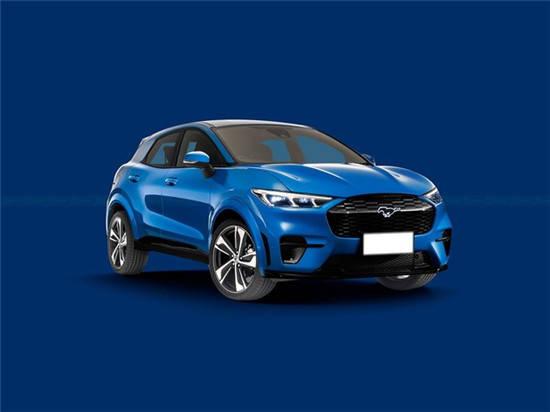 最初的福特第二款纯电动SUV渲染预计在2023年推出