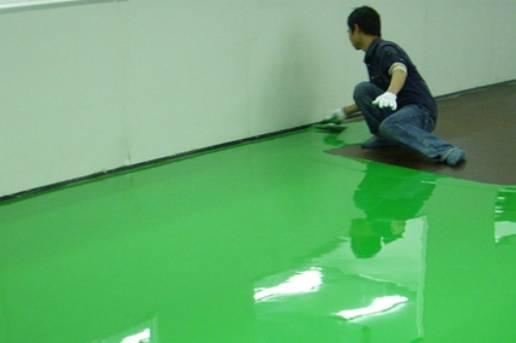 环氧耐磨防腐地坪漆,如何在车间、仓库施工?