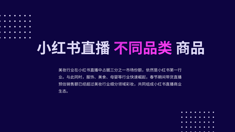 """021年小红书电商直播趋势报告-小红书数据分析报告"""""""
