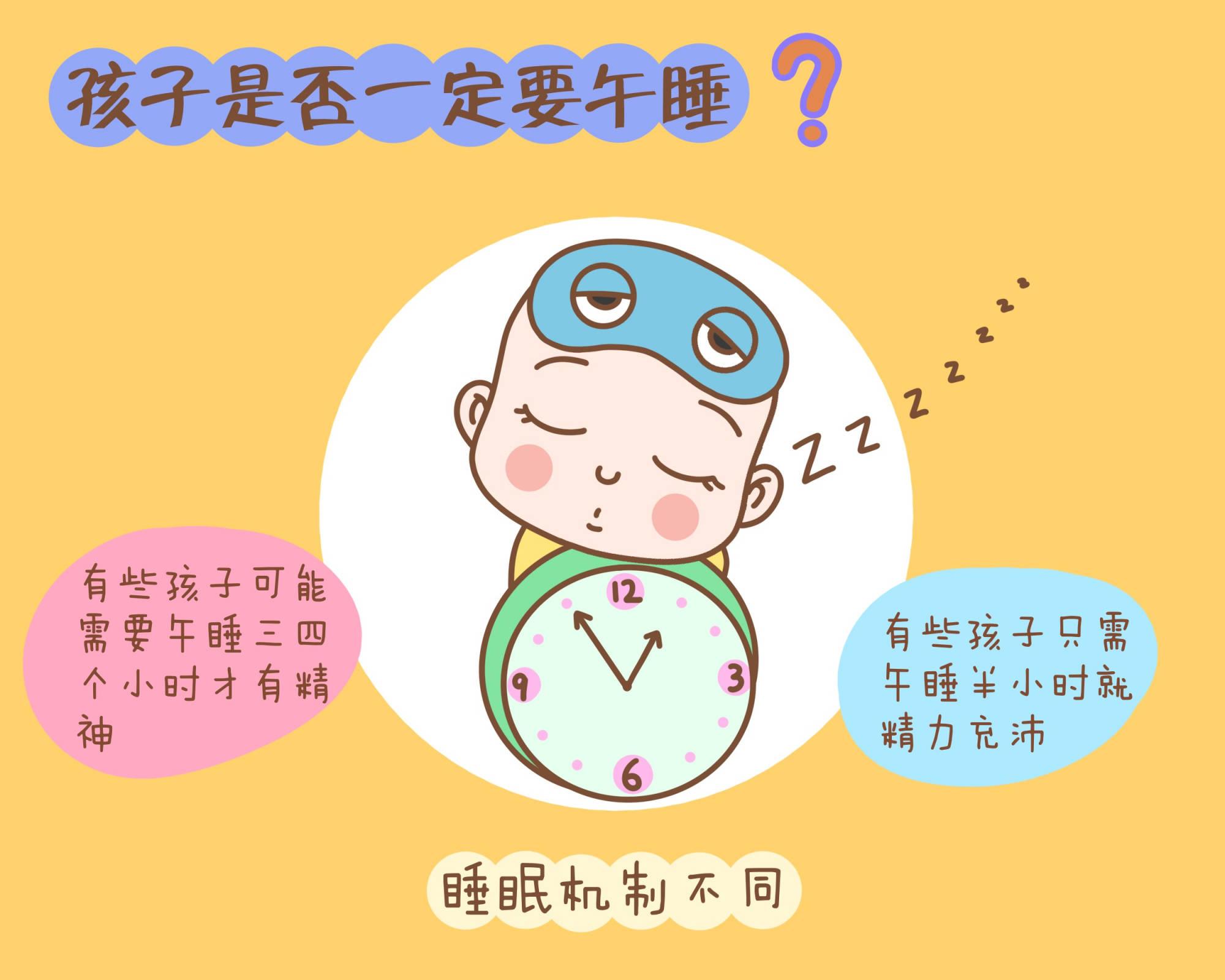 """孩子中午要不要睡觉?强制午睡只会""""坑娃"""",家长别过分苛责"""