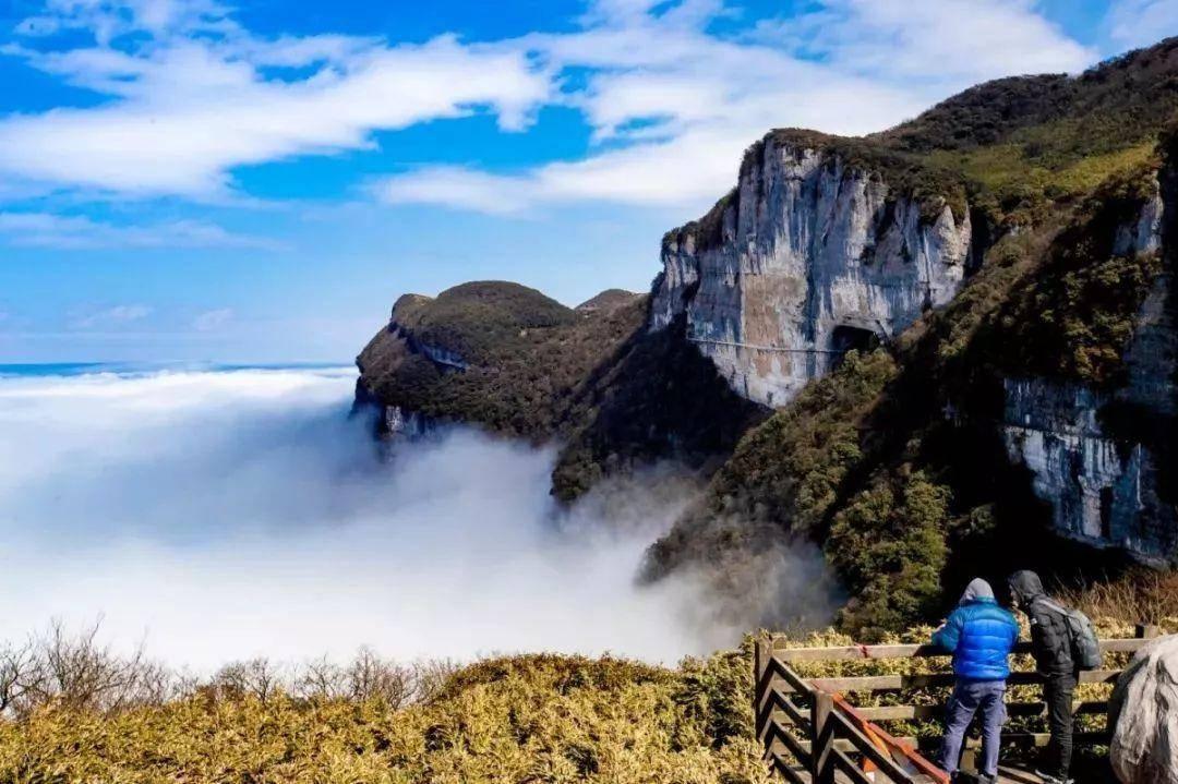 """重庆一座海拨2238米的山,被誉为""""东方的阿尔卑斯山"""""""